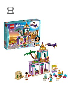 LEGO Disney Princess 41161 Aladdin and Jasmine's Palace Adventures
