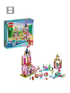 LEGO Disney Princess 41162 Ariel, Aurora, and Tiana's Royal Celebration