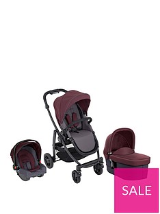 graco-evo-trio-travel-system-with-snugride-car-seat-carrycot