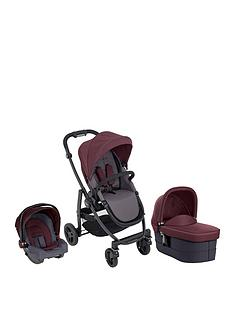 graco-graco-evo-trio-travel-system-with-snugride-car-seat-carrycot