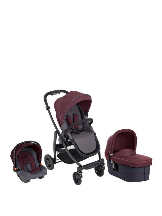 ea203593a Graco Graco Evo Trio Travel System with Snugride Car Seat & Carrycot ...