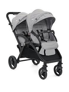 joie-evalite-duo-stroller-grey-flannel
