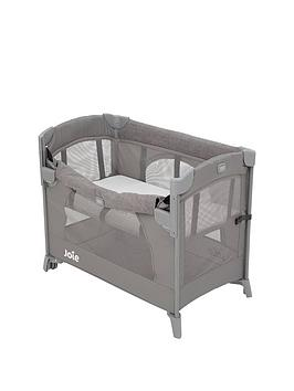 joie-joie-kubbie-sleep-travel-cot-foggy-grey