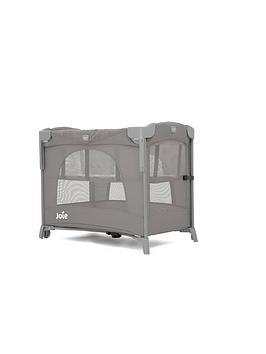 Joie Baby Kubbie Sleep Travel Cot - Foggy Grey
