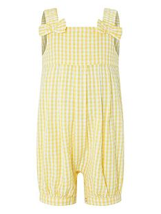 841824341263 Monsoon Baby Girls Sunny Jumpsuit - Yellow