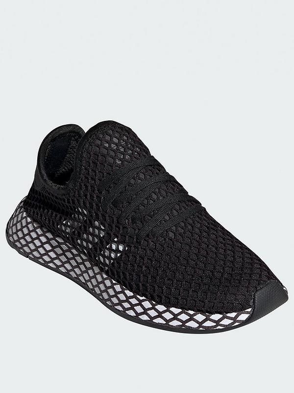 adidas Originals Black Deerupt Junior Trainers