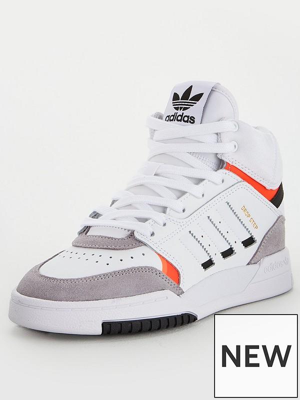 adidas Originals Dropstep – White   Kicks and under   Adidas