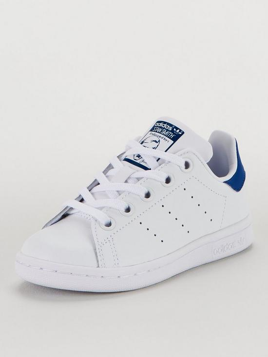 various colors 40ca6 03a6d Stan Smith Childrens Trainers - White/Blue