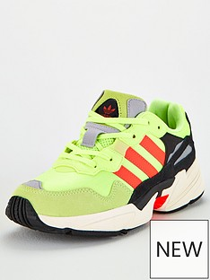 adidas-originals-childrens-yung-96-trainers-yellow