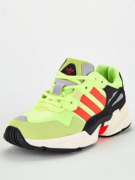 adidas-originals-childrens-yung-96-trainers-yellow