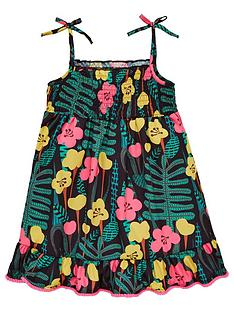 mini-v-by-very-girls-printed-pom-pom-detail-midi-dress-multi