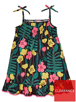 mini-v-by-very-girls-printed-pom-pom-detail-midi-dress-multi