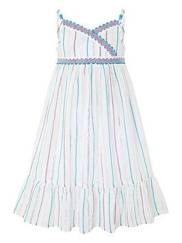 monsoon-girls-helena-stripe-dress-white
