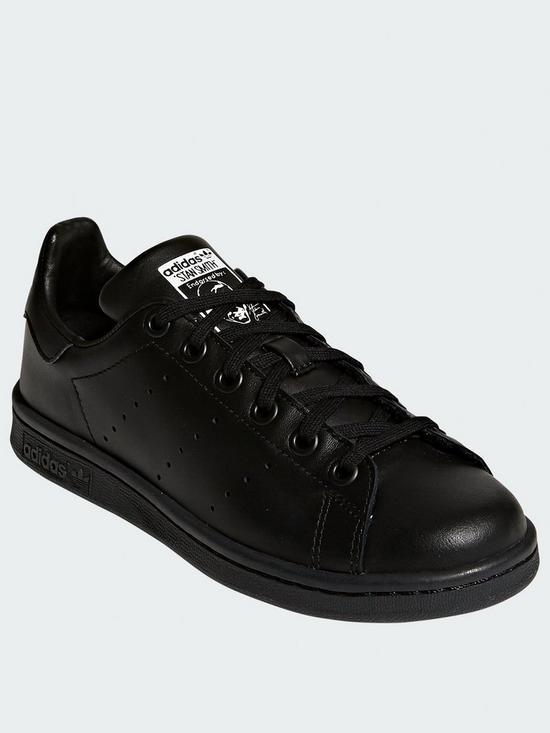 buy popular f4c5f 3520c Stan Smith Junior Trainers - Black