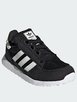 adidas-originals-forest-grove-childrensnbsptrainers-blackwhite
