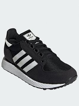 adidas-originals-forest-grove-junior-trainers-blackwhite