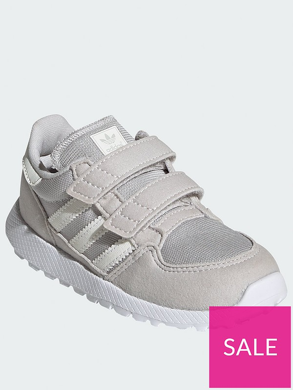 Forest Grove Infant Trainers GreyWhite