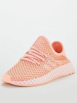adidas-originals-childrens-deerupt-trainers-pinkwhite