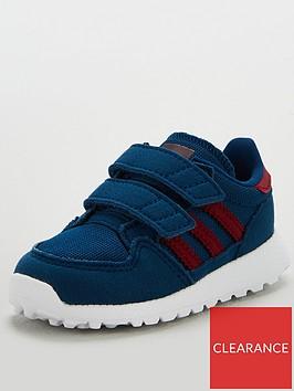 adidas-originals-forest-grove-infant-trainers-blueburgundy