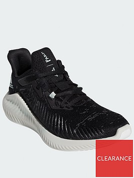 adidas-alphabounce-parley-juniornbsptrainers-blackwhite