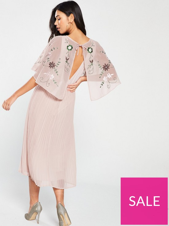 f3961faadeabe ... Frock And Frill Gabriella Embroidered Midi Dress - Blush. 13 people  have looked at this in the last couple of hrs.