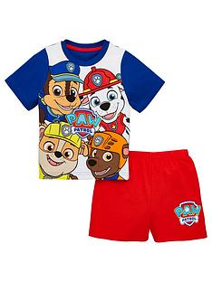 59201f1ae Paw Patrol Boys Shorty Pyjamas - Multi