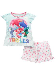 1411d898a DreamWorks Trolls Girls Poppy Short Pyjamas - Multi