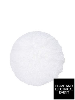 river-island-round-mongolian-cushion-in-white