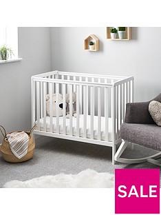 obaby-bantam-space-saver-cot-bed-mattress