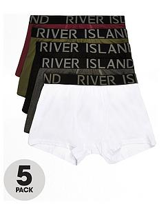 river-island-khaki-classic-trunks-5pp