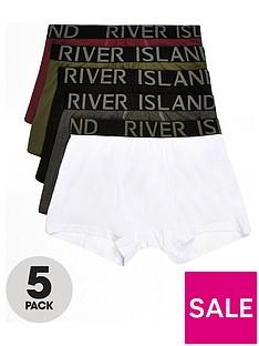 river-island-khaki-classic-trunks-5pp
