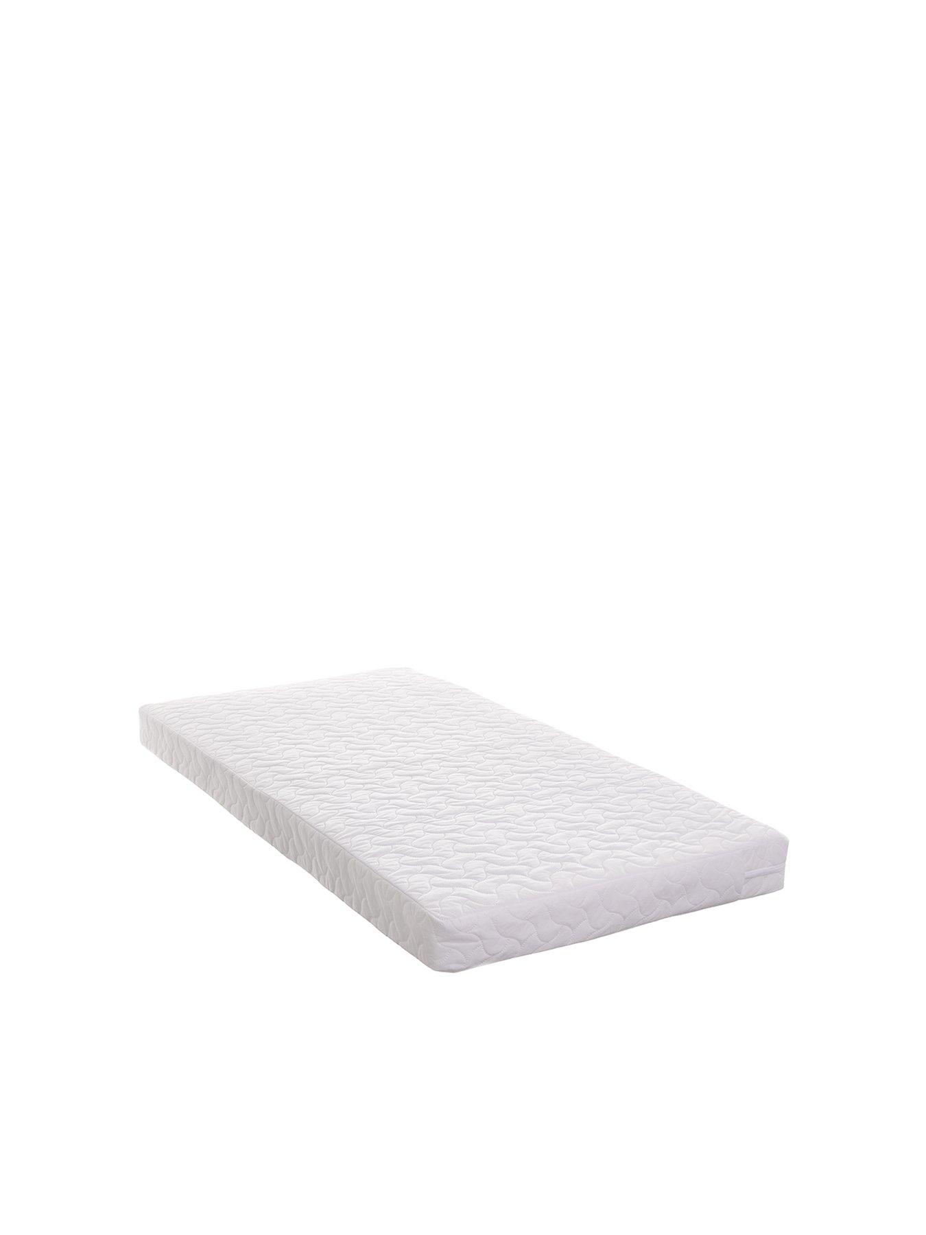 Cradle Baby Mattress cot Crib Size 89 x 43 x 4 cm Breathable Quilted and Waterproof Foam Mattress for cot Nursery Crib