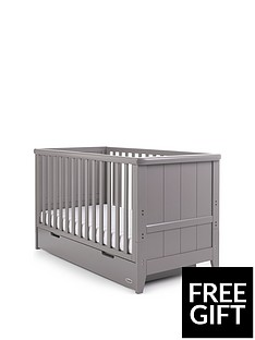 obaby-obaby-belton-cot-bed-taupe-grey