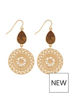 accessorize-statements-shield-earrings