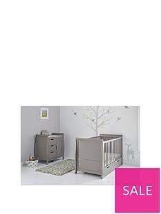 obaby-obaby-stamford-classic-sleigh-2-piece-nursery-furniture-set