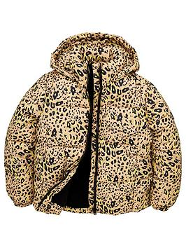 v-by-very-girls-leopard-print-padded-hooded-coat-multi