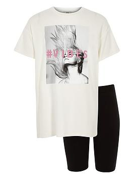 river-island-girls-vibes-t-shirt-and-shorts-outfit-white