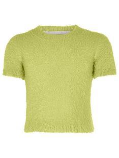 river-island-girls-green-fluffy-knit-t-shirt