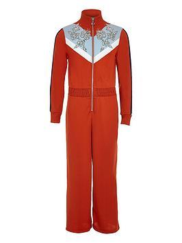 river-island-girls-red-funnel-neck-embellished-jumpsuit