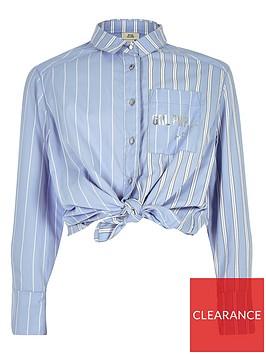 river-island-girls-blue-stripe-tie-button-up-shirt