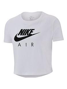 nike-girlsnbspair-cropped-t-shirt-white