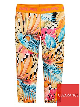 nike-girls-capri-leggings-orangepink