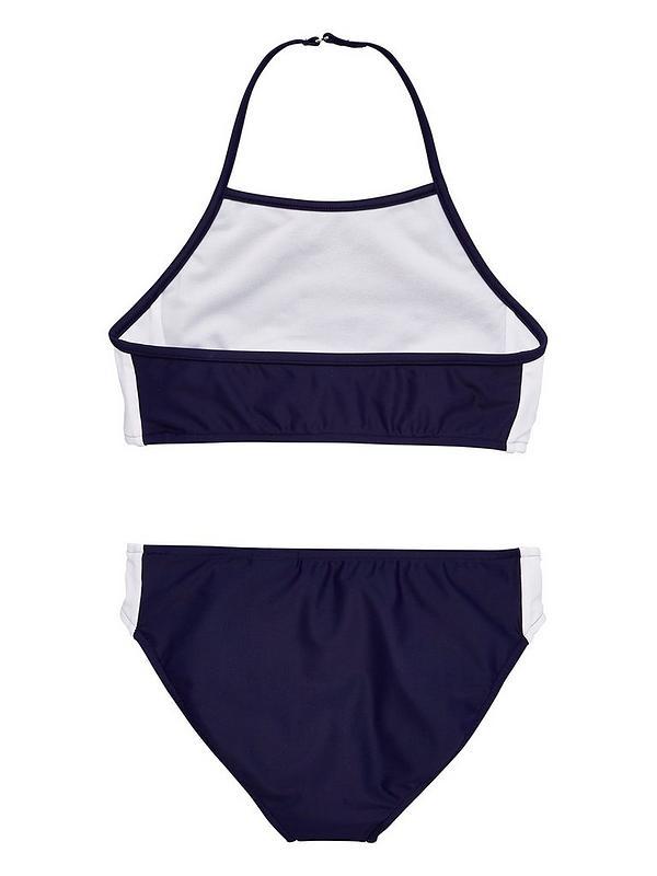 6a45e08f601 Ralph Lauren Girls Polo Sport Bikini - Navy | very.co.uk
