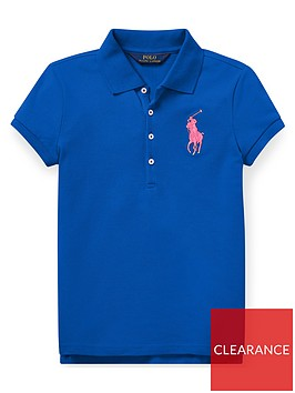 ralph-lauren-girls-big-pony-short-sleeve-polo-shirt-blue