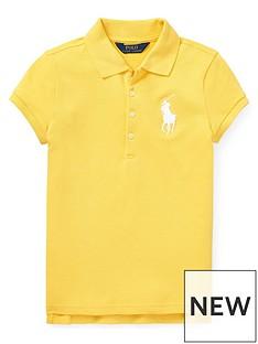 ralph-lauren-girls-big-pony-short-sleeve-polo-shirt-yellow