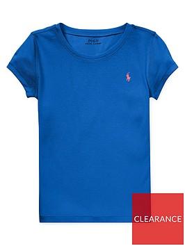 ralph-lauren-girls-classic-short-sleeve-t-shirt-blue