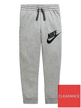 nike-boys-club-fleece-pants-dark-grey-heather