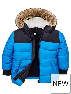 v-by-very-boys-colour-block-quilted-faux-fur-jacket-blue