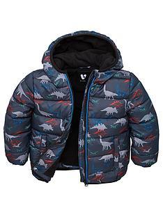 v-by-very-boys-fleece-lined-dino-hooded-padded-jacket-blue