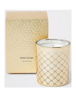 river-island-scented-gold-candle-ndash-lily-and-freesia